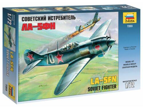 Zvezda Lavotchkin LA-5 FN Soviet Fighter 1:72 (7203)