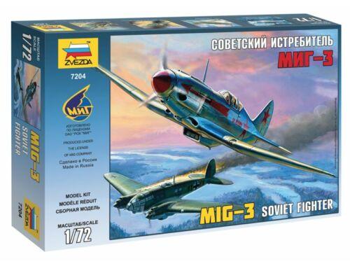 Zvezda MiG-3 Soviet Fighter 1:72 (7204)