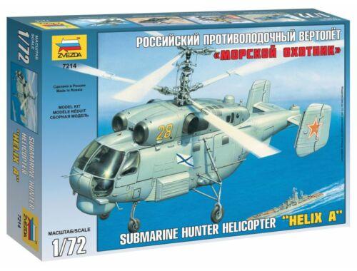 Zvezda Kamov Ka-27 Submarine Hunter `Helix A` 1:72 (7214)
