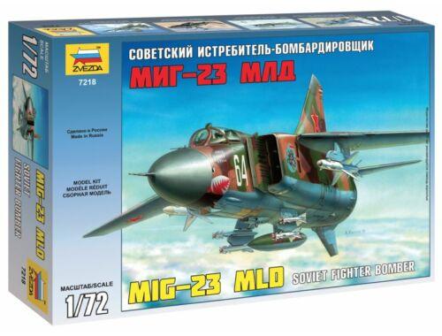 Zvezda MiG-23 MLD `Flogger-K` 1:72 (7218)