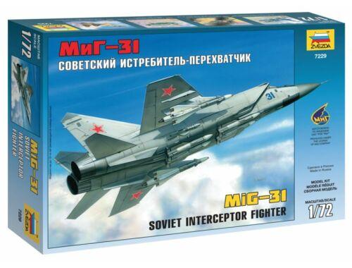 Zvezda MIG-31 Soviet Interceptor 1:72 (7229)