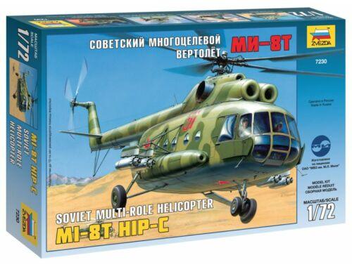 Zvezda MIL Mi-8T `Hip-B` 1:72 (7230)