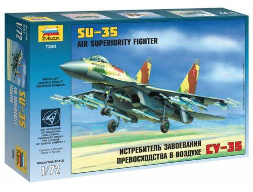Zvezda SU-35 Air Superiority Fighter 1:72 (7240)