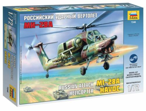 Zvezda MIL Mi-28 `Havoc` 1:72 (7246)