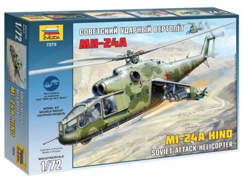 Zvezda Mil Mi-24A Hind 1:72 (7273)