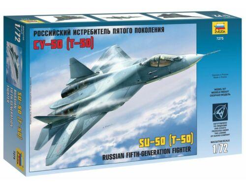 Zvezda Sukhoi T-50 1:72 (7275)