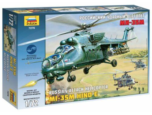 Zvezda 1:72 Mil Mi-35 Soviet Helicopter 1:72 (7276)