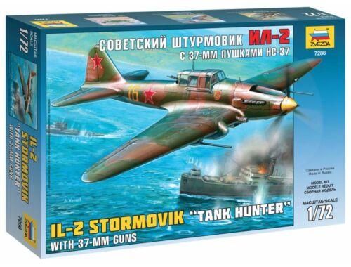 Zvezda IL-2 Tank Hunter 1:72 (7286)