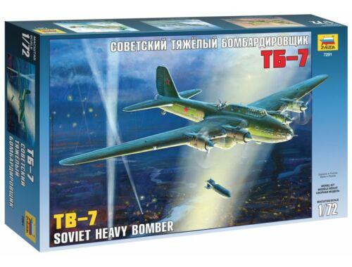 Zvezda TB-7 Soviet Bomber 1:72 (7291)