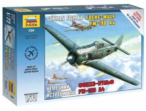 Zvezda Focke Wulf 190 A4 1:72 (7304)