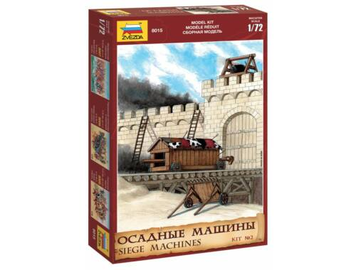 Zvezda Siege Machines Kit No. 2. 1:72 (8015)