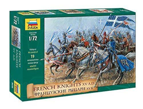 Zvezda French Knights (XV. sz.) 1:72 (8036)