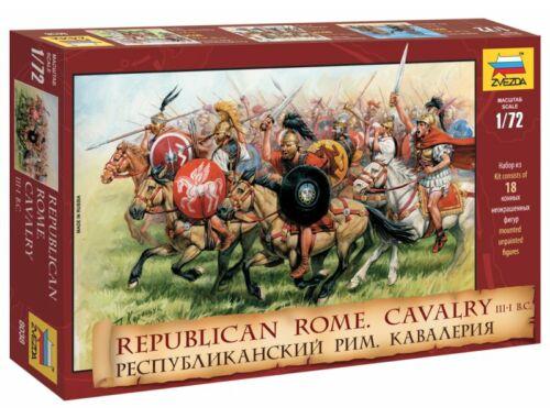 Zvezda Republican Rome Cavalry (i.e. III-I. sz.) 1:72 (8038)
