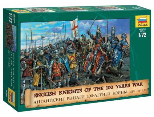 Zvezda English Knights (100 éves háború) 1:72 (8044)