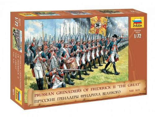 Zvezda Prussian Grenadiers (Frederick II. the Great) 1:72 (8071)