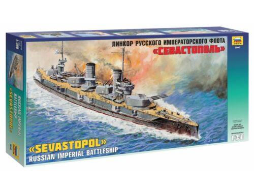 Zvezda Battleship 'Sewastopol' 1:350 (9040)