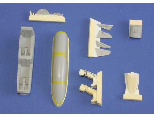 CMK JAS-39D Gripen - interior set for Italeri 1:48 (4198)