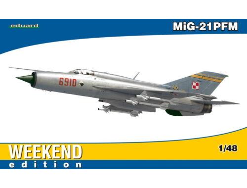 Eduard MiG-21PFM WEEKEND edition 1:48 (84124)