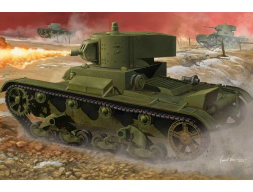 Hobby Boss Soviet OT-130 Flame Thrower 1:35 (82498)
