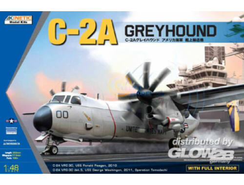 Kinetic C-2A Greyhound 1:48 (48025)