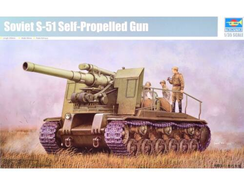 Trumpeter Soviet S-51 Self-Propelled Gun 1:35 (5583)