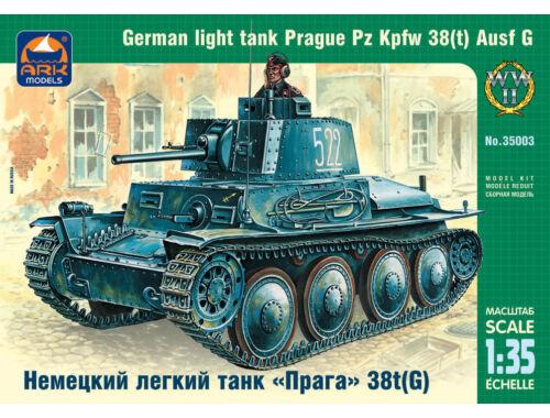 ARK Model German light tank Prague Pz Kpfw 38t G 1:35 (35003)