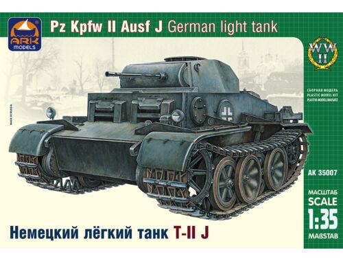 ARK Model German light tank Pz Kpfw II Ausf J 1:35 (35007)