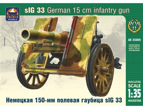 ARK Model German 15cm infantry gun sIG 33 1:35 (35009)