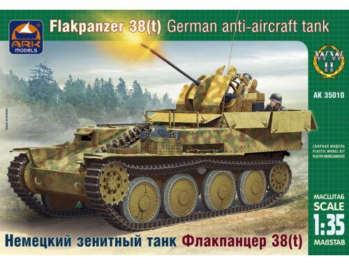 ARK Model German air-defense tank Flakpanzer 38 1:35 (35010)