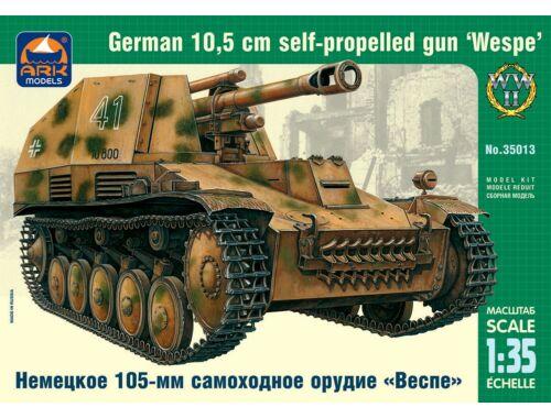 ARK Model German 10,5cm self-prop gun Wespe 1:35 (35013)