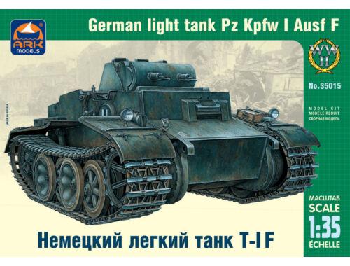 ARK Model German light tank Pz Kpfw I Ausf F 1:35 (35015)