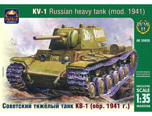 ARK Model Russian heavy tank KV-1 (mod. 1941) 1:35 (35020)
