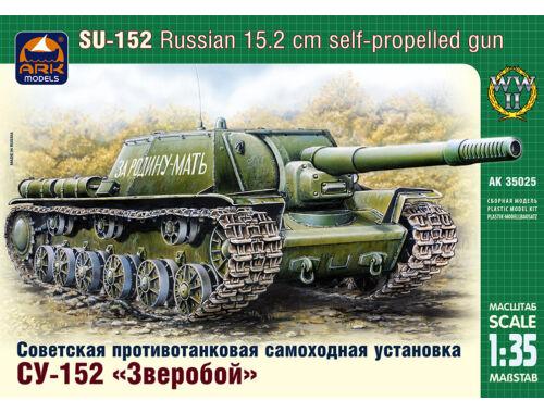 ARK Model Russian 152mm self-prop gun SU-152 1:35 (35025)