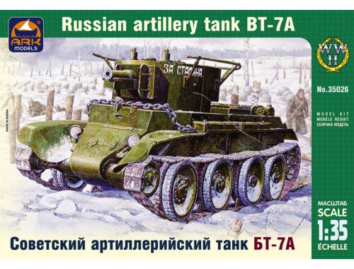 ARK Model Russian artillery light tank BT-7A 1:35 (35026)