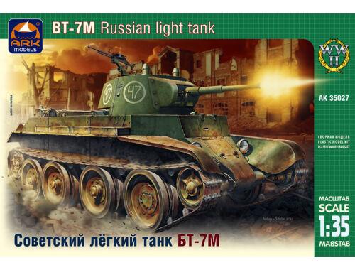 ARK Model Russian light tank BT-7M 1:35 (35027)