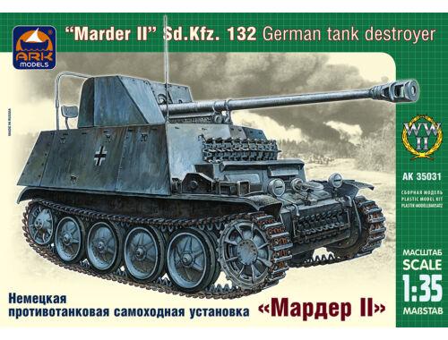 ARK Model Marder II Sd. Kfz. 132 Ger self-prop gun 1:35 (35031)