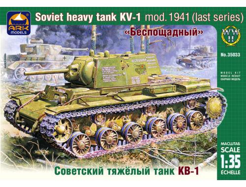 ARK Model Russian heavy tank KV-1 mod. 1941 (last) 1:35 (35033)