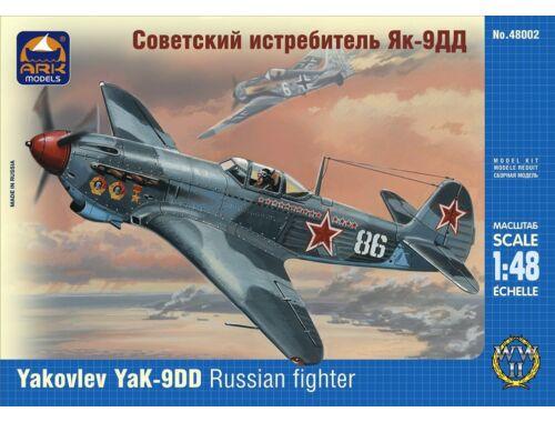 ARK Model Yakovlev Yak-9DD Russian fighter 1:48 (48002)