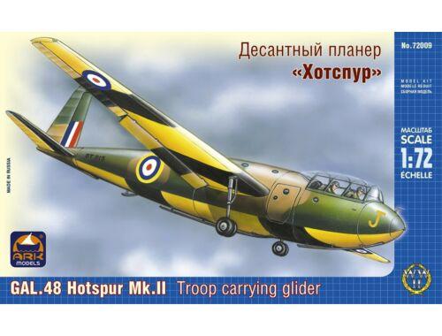 """ARK Model GAL.48 """"Hotspur"""" Mk.II troop carrier 1:72 (72009)"""