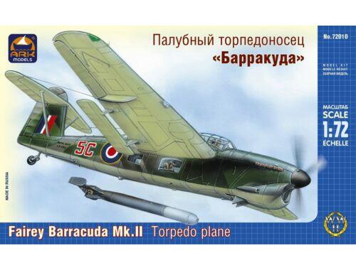 "ARK Model Fairey ""Barracuda"" Mk.II torpedo plane 1:72 (72010)"