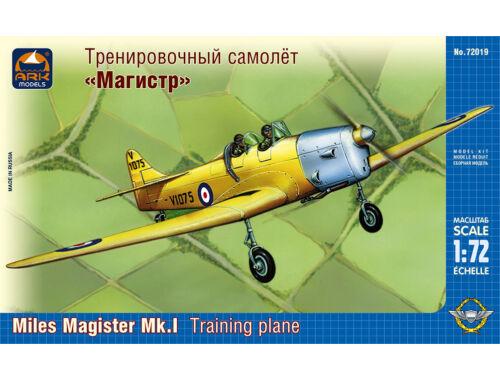 """ARK Model Miles """"Magister"""" Mk.1 training plane 1:72 (72019)"""
