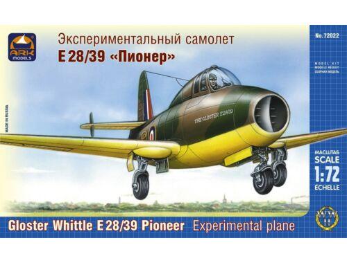 """ARK Model Gloster Whittle E 28/39 """"Pioneer"""" 1:72 (72022)"""