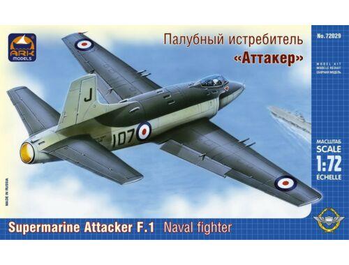 """ARK Model Supermarine """"Attacker"""" F.1 naval fighter 1:72 (72029)"""