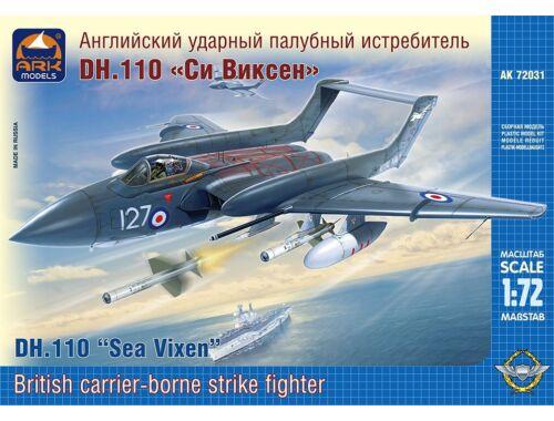 """ARK Model DH.110 """"Sea Vixen"""" FAW.2 carrier 1:72 (72031)"""