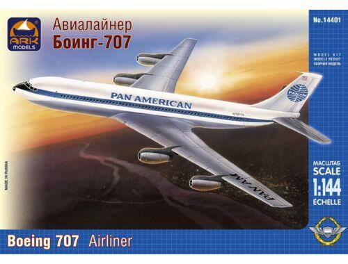 ARK Model Boeing 707 Pan America 1:144 (14401)
