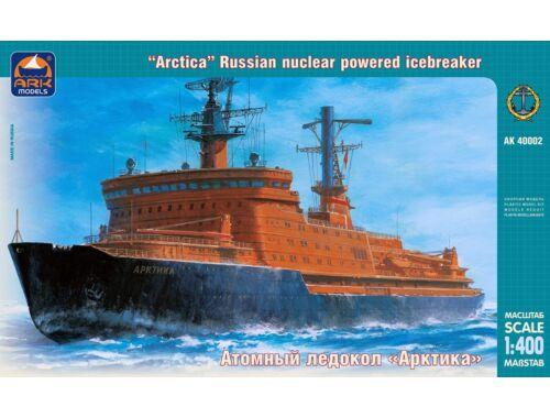 "ARK Model Russ. nuclear pow. icebreaker ""Arctica"" 1:400 (40002)"