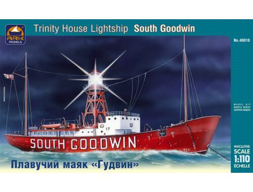 "ARK Model ""South Goodwin"" Russian Navy Protected Cruiser 1:110 (40010)"