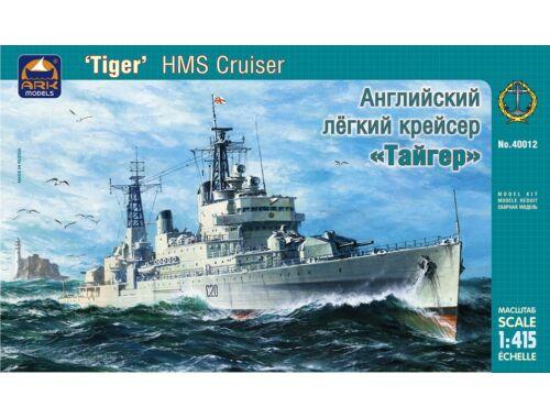 """ARK Model HMS cruiser """"Tiger"""" Russian Navy Battleship 1:400 (40012)"""