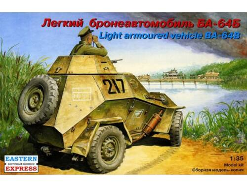 Eastern Express Russian light armoured car BA-64B 1:35 (35007)