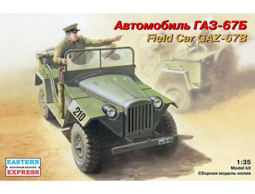 Eastern Express GAZ-67B Russian field car 1:35 (35009)
